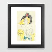 finn and jake  Framed Art Print