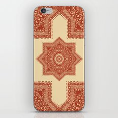 The Red Moroccan Pattern iPhone & iPod Skin