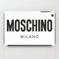 Moschino Milano iPad Case