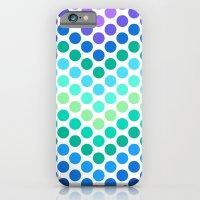 Dot Chevron: Blue Purple iPhone 6 Slim Case