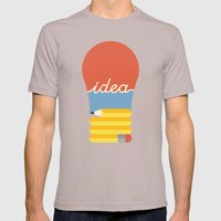 I've Got An Idea Mens Fitted Tee Cinder SMALL