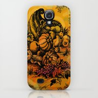 Harvest Time Toile Galaxy S4 Slim Case