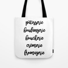 French Marketplace Tote Bag