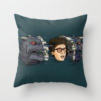 Terror Dog Throw Pillow