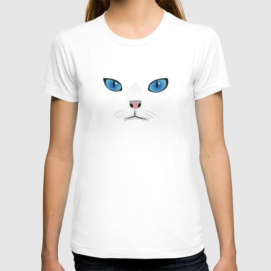 Little white cat T-shirt