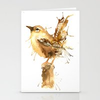 Mr Wren Stationery Cards