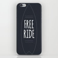 Free Ride iPhone & iPod Skin