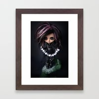EDWARD SCISSORHANDS CUST… Framed Art Print
