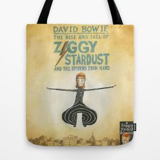 Ziggy Stardust - Book 2 - Bowie Tote Bag
