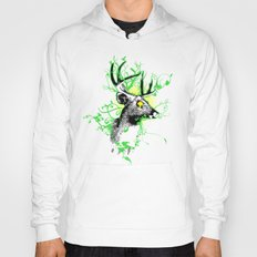 Trippy Ghost Deer Hoody