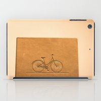 i like to ride my bicycle  iPad Case