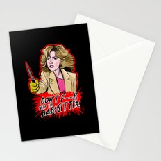 Don't F--- With the Babysitter!!! Stationery Cards