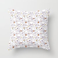 Heart Kids Pattern Throw Pillow