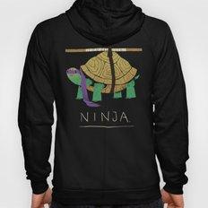 ninja - purple Hoody