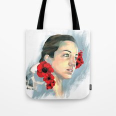 Poppy Of The Sea Tote Bag