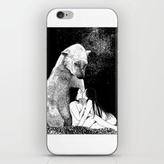asc 257 - Le grand frère (The elder brother) - Night version iPhone & iPod Skin