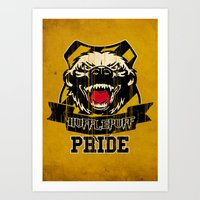 Hufflepuff Pride Art Print