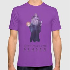Mind Flayer (Typography) Mens Fitted Tee Ultraviolet SMALL