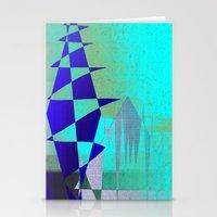 Cobalt Modiet Stationery Cards