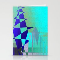 Cobalt Modiet Stationery Cards