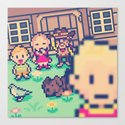 Mother 3 Selfie Canvas Print