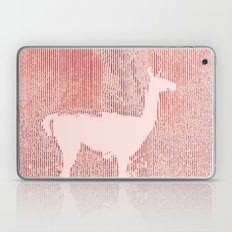 Llama Lines in Spring Laptop & iPad Skin