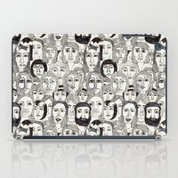 Faces in the Tube iPad Case