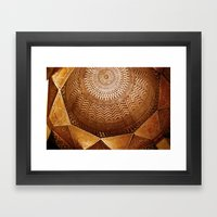 cairo dome Framed Art Print
