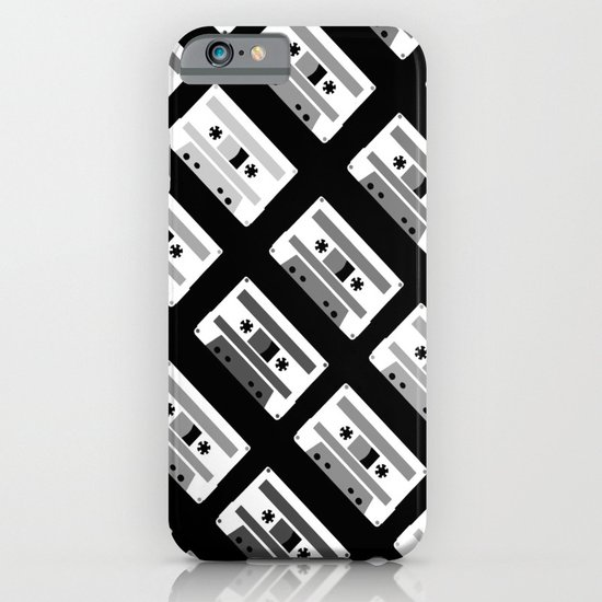 Black and White Tapes 45 iPhone & iPod Case