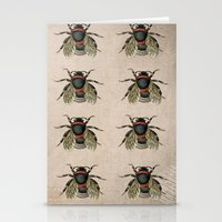 Vintage Bees Stationery Cards