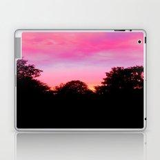 Sunset above the trees Laptop & iPad Skin