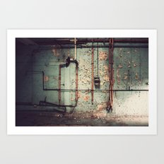 The Forgotten Wall  Art Print