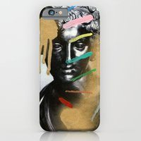 iPhone Cases featuring Composition 527 by Chad Wys
