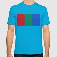 Flag of Mars - High quality authentic version Mens Fitted Tee Teal SMALL