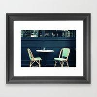 Brasserie Framed Art Print