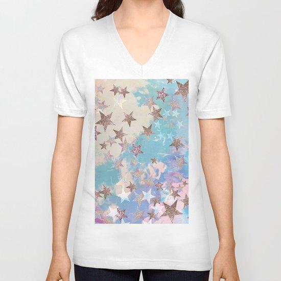 Starry Eyed V-neck T-shirt