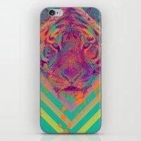 Tiger Bright iPhone & iPod Skin