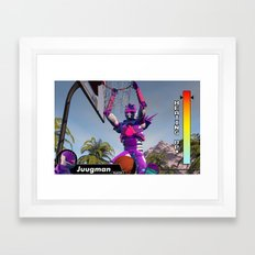 Heating Up Framed Art Print
