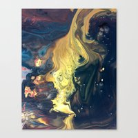 Night Tides Canvas Print