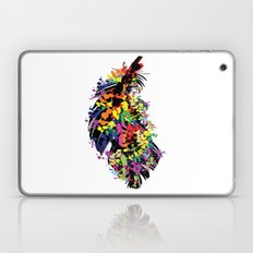 Colorful feather Laptop & iPad Skin