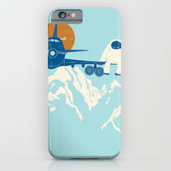 Hitchin' a Ride iPhone & iPod Case