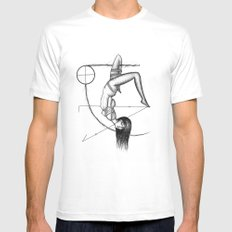 B.1  Mens Fitted Tee White SMALL