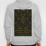 Merry Gold Stars And Sil… Hoody
