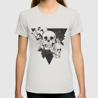 Order Of Chaos Womens Fitted Tee Silver SMALL