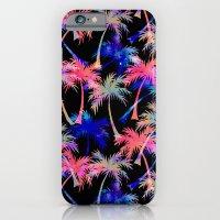 Falling Palms - Nightlight iPhone 6 Slim Case