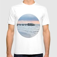 North Pier  Mens Fitted Tee White SMALL
