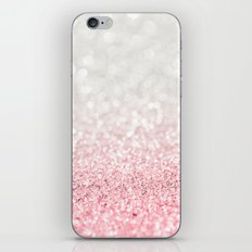 Pink Ombre Glitter iPhone & iPod Skin