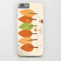 iPhone & iPod Case featuring Balade en automne by Jean-Sébastien  Deheeger