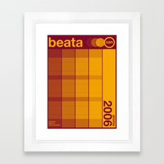 beata single hop Framed Art Print