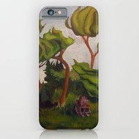 Robot in Forest iPhone 6 Slim Case